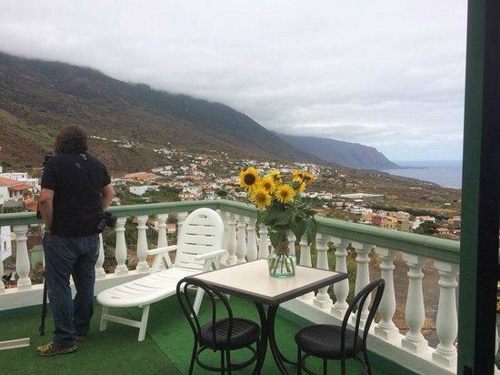 Hotel Ida Inés: Terraza Habitación
