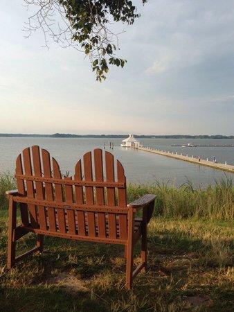 Hyatt Regency Chesapeake Bay Golf Resort, Spa & Marina: View of the water