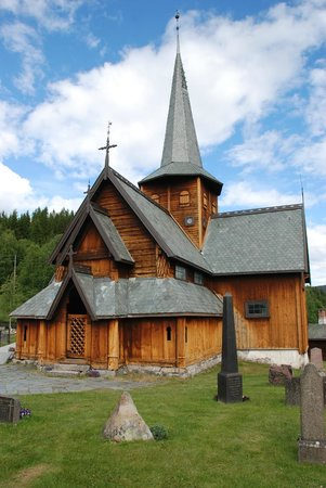 Oppland, Norway: Hedalen Stave Church