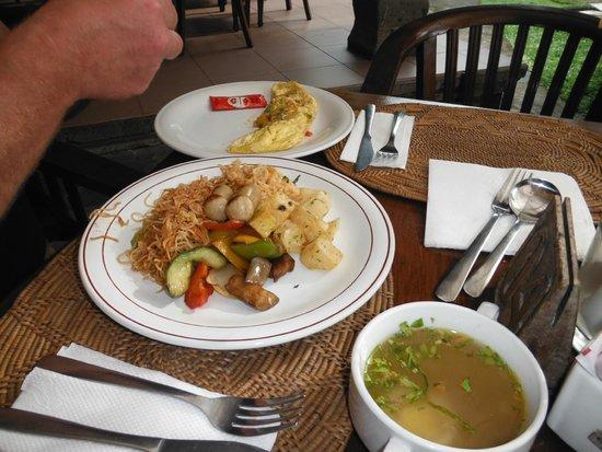 Sari Segara Resort Villas & Spa: 美味しい朝食