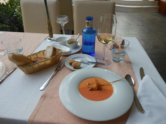 Restaurant Balague : вкуснейший супчик