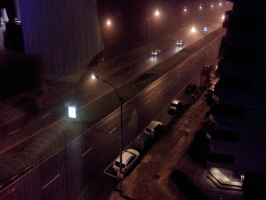 Cala di Volpe Boutique Hotel: Vista do quarto à noite