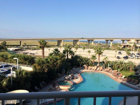 Caribe Resort: View from balcony B316