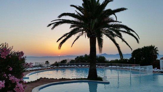 Sun Club El Dorado : Vue de la piscine supérieure
