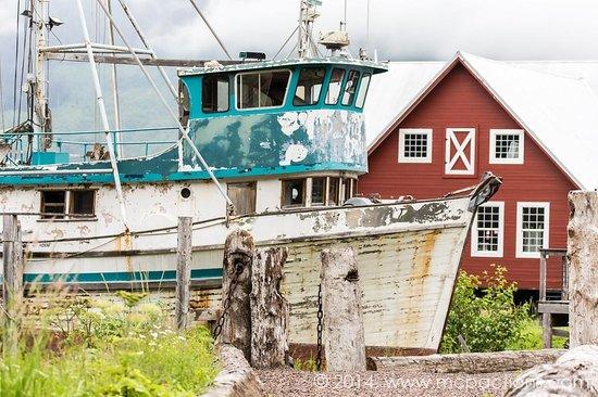Glacier Wind Charters: Near the port itself