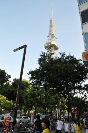 Nagoya TV Tower : ひきの画
