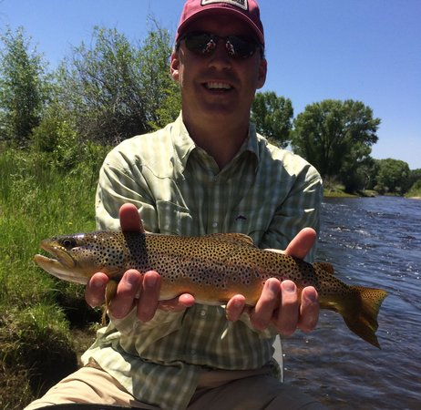 The Lodge and Spa at Brush Creek Ranch: Brown trout