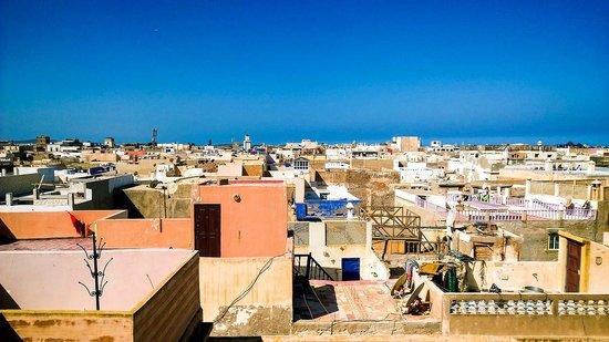 Riad Maissoun : Вид с террасы верхнего уровня