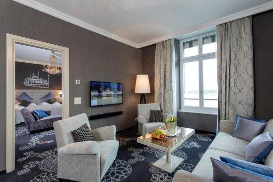 Hotel Schweizerhof Luzern: Deluxe Suite