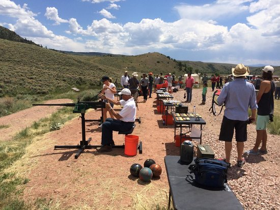 The Lodge and Spa at Brush Creek Ranch: Shoot'em Up  Day