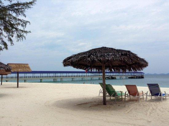 Aseania Resort Pulau Besar : New jetty