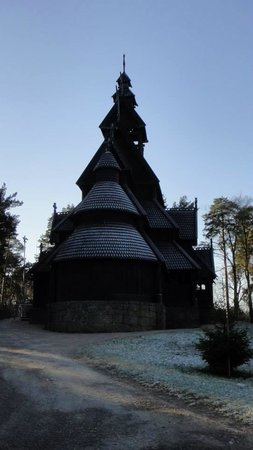Norwegisches Volksmuseum (Norsk Folkemuseum): Viking Church