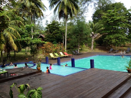 Aseania Resort Pulau Besar : Swimming pool