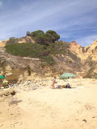 Aparthotel Oceanus: Local Beach