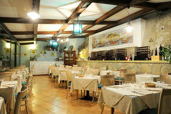 Villa San Michele : Our restaurant - Everything is ready for the service!