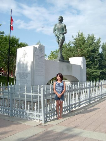 Terry Fox Monument: Terry Fox