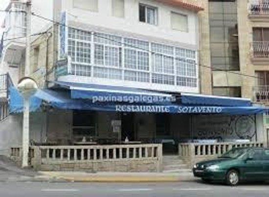 45f8dad548de Restaurante sotavento - Picture of Restaurante Sotavento, Portonovo ...
