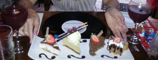 Oliver's With A Twist: The lush deserts
