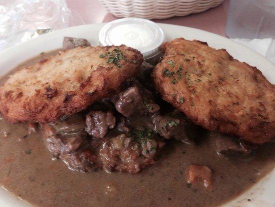 Sabina's Restaurant: Potatocake