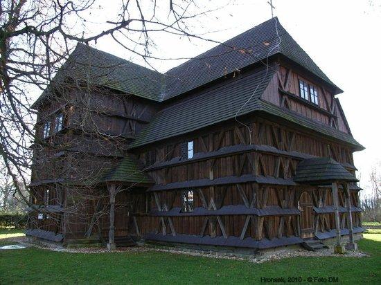 Hronsek, Slowakije: Wooden Church