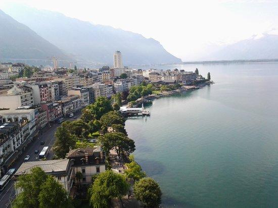 Eurotel Riviera Montreux: Vista da janela do quarto