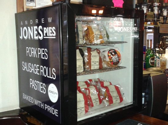 Grey Horse: Award winning Andrew Jones Pork Pies