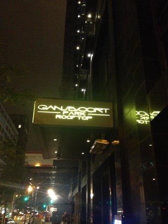 Gansevoort Park Avenue NYC: ingang