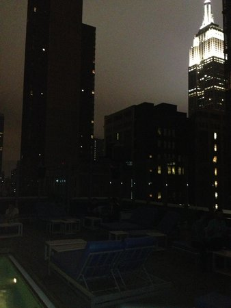 Gansevoort Park Avenue NYC: uitzicht