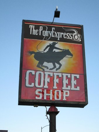 The Pony Expresso : New sign!