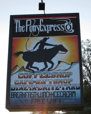 The Pony Expresso: New sign - side 2
