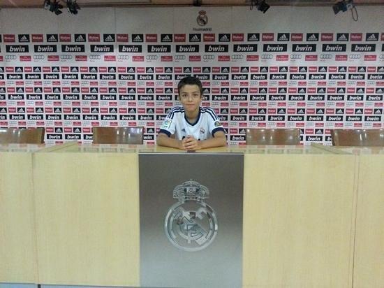 Stadio Santiago Bernabeu : dans la salle d'interview