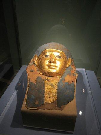 Castello del Buonconsiglio Monumenti e Collezioni Provinciali: Faccia si sarcofago Egizio