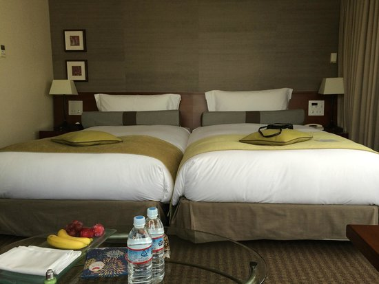 The Strings by InterContinental Tokyo : Beds, soft and good
