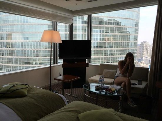 The Strings by InterContinental Tokyo : Room view