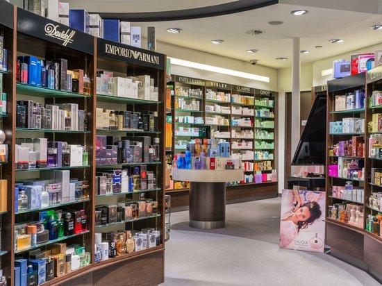 Sport & Wellness Hotel Post: Hangl's Duty free shops