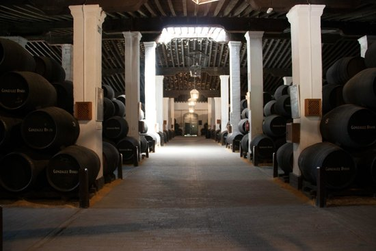 Bodegas Tio Pepe : Warehouse