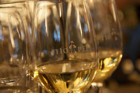 Bodegas Tío Pepe: Wine tasting