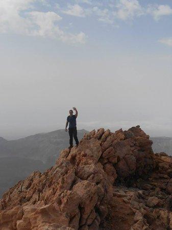 Volcan El Teide: au plus haut du volcan