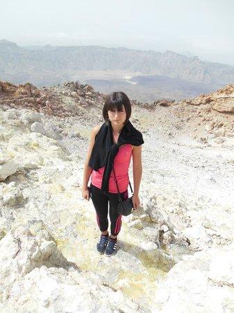Volcan El Teide: le cratere