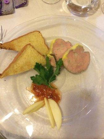 Le Peyragude : paté de foie gras
