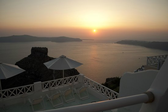 Hotel Sunny Villas: Uitzicht kamer 115