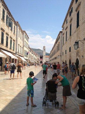 Old Town: Big street