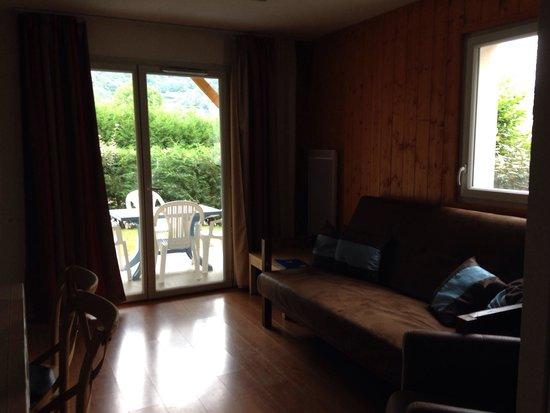 Domaine Du Val De Roland : The apartment was a bit dark
