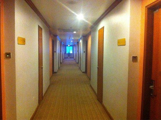 Hotel Sandakan : The corridor