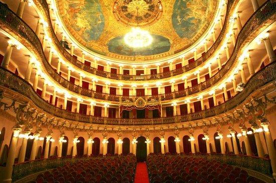 Théâtre Amazonas : parte interna