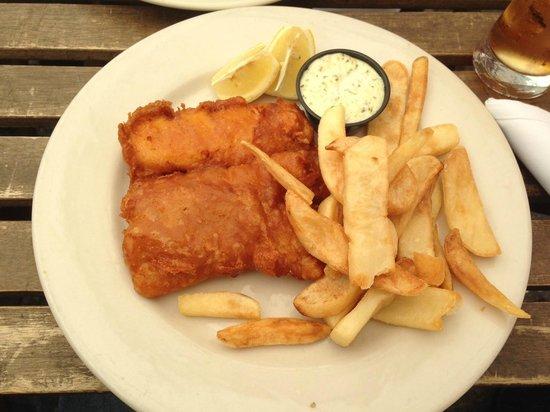 The Dubliner: Fish & Chips