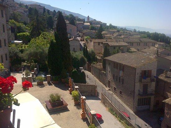 Hotel Giotto Assisi: Desde el Mirador!!!!