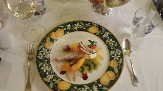 L'Antica Trattoria: Dessert alla doppia crema di limone