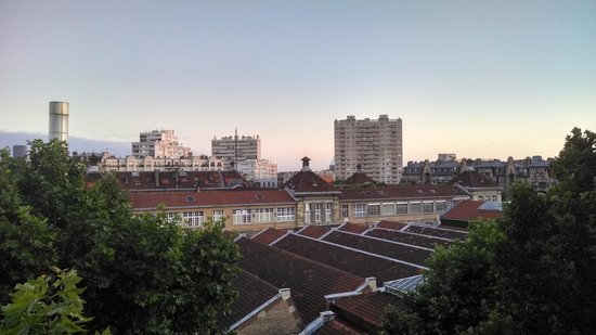 Jack's Hotel : Beautiful morning view from the 6th floor