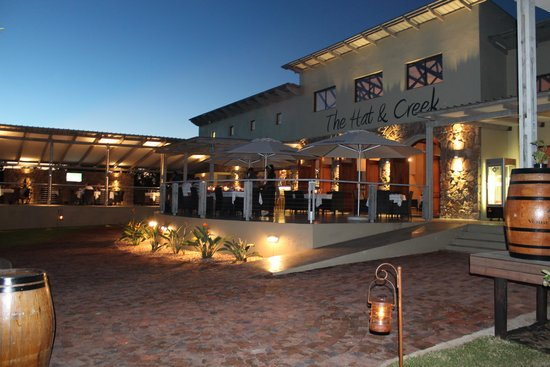 Phalaborwa, Sydafrika: The Hat and Creek Restaurant